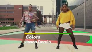 COLORS - JASON DERULO BY JAY AND KAYLISS