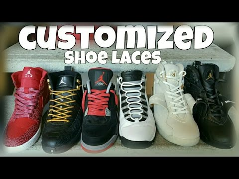 DOPE CUSTOMIZED SHOE LACES BY SNEAKER HEAD CLOTHING LINE
