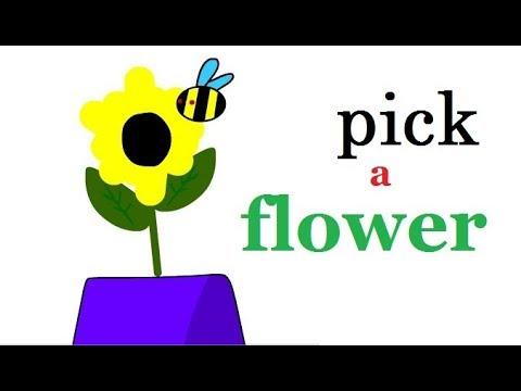 PICK A FLOWER //meme *backstory*