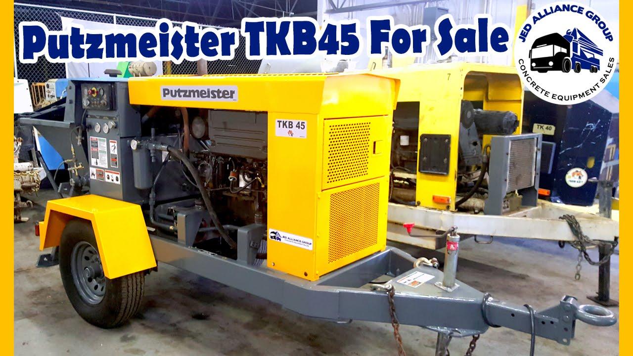 2000 PUTZMEISTER TKB45 #T833 FOR SALE