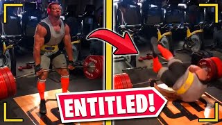 r/EntitledParents | ENTITLED KID CAUSES INSANE WEIGHTLIFTING ACCIDENT!