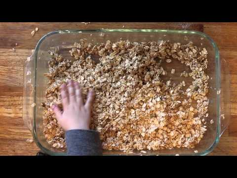 How to make Granola (toasted muesli if you're not American) [Explicit language]