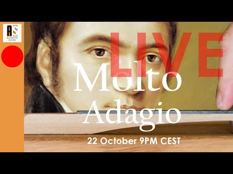 "🔴LIVE on Beethoven Sonata n°5 opus 10/1: what is ""Molto Adagio""?"
