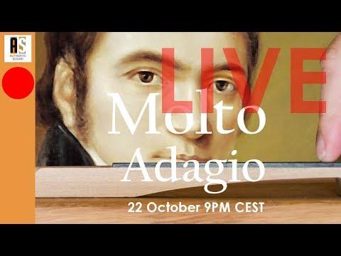 "🔴LIVE on Beethoven Sonata n°5 opus 10/1: what is ""Molto Adagio""?"
