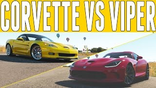 2013-Chevrolet-Corvette-ZR1-2013-SRT-Viper-GTS-rear-2 Srt Viper Gts Vs Chevrolet Corvette Zr1