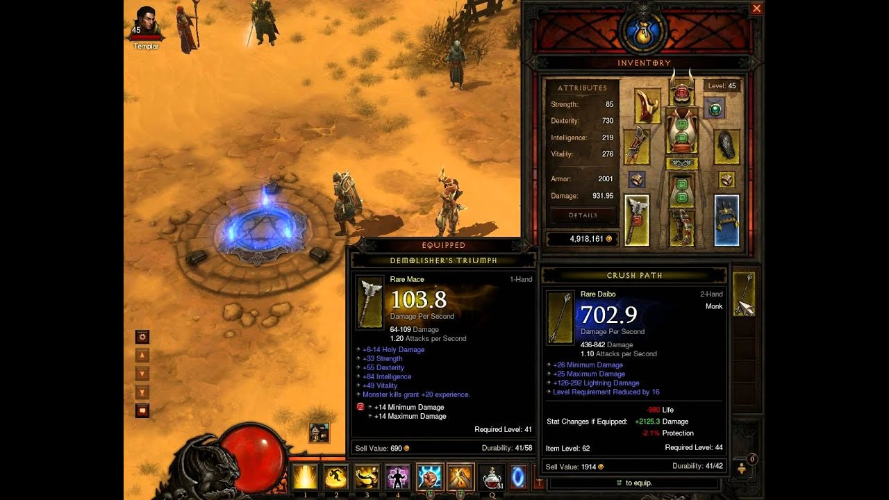 diablo 3 farming leveling fast with reduced level weapons youtube