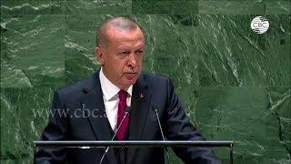 Президент Турции назвал неприемлемым текущий статус Нагорного Карабаха