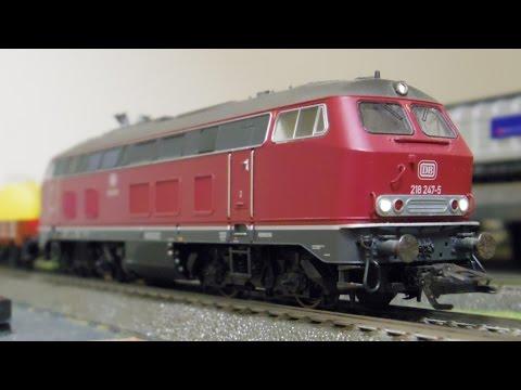 märklin HO 37767 DB AG BR 218 Diesel Locomotive/メルクリン HO 鉄道模型 ドイツ鉄道 BR218形ディーゼル機関車
