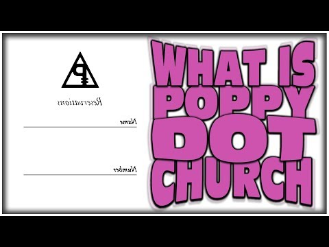 WHAT IS POPPY.CHURCH (MYSTERIOUS WEBSITE AFTER POPPY APPEARED ON TRL)