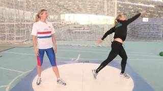 How To Throw A Shot Put Video