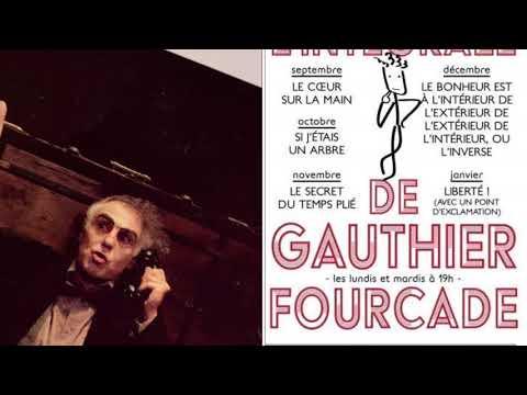 Gauthier Fourcade. Théâtre Manufacture des Abbesses