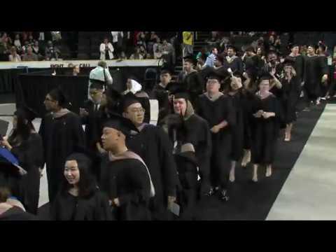 2018 JWU Providence Graduate Studies Ceremony