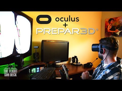 Oculus Rift Unboxing + Prepar3D v4 Test