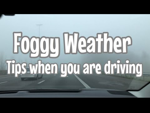 Foggy Weather |Tips When You Are Driving| Filipina Immigrant In Belgium