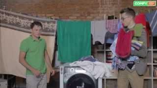 Обзор стирально-сушильной машины Hotpoint-Ariston AQD1070D 49 EU/B