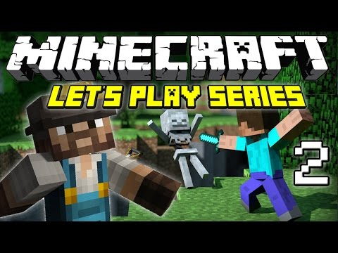 Q & A FARM HUNT!! (Minecraft Let's Play Series - Episode 2)