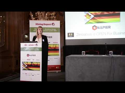 Mining Report Welcoming Address - Zimbabwe Mining Investment Conference London 26th November 2018