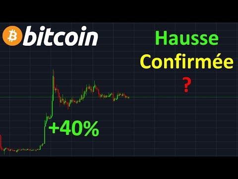 BITCOIN +40% HAUSSE CONFIRMÉE  !? btc analyse technique crypto monnaie