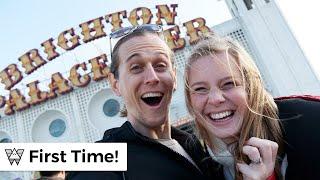Americans first impressions of Brighton (Treasure Hunt!)