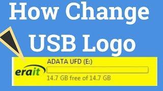 How To Change Usb Logo  or Pendrive Icon। EraIT