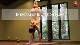 Yoga flow with Integrated Inversions for more advanced practitioners