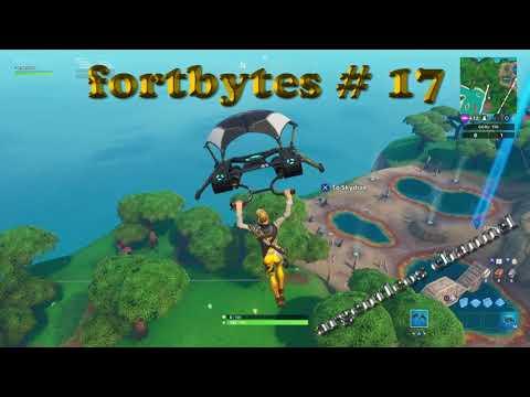 Fortbytes # 17 | Fortnite battle royal season 9 | found in a fish buiding