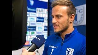 Pressekonferenz vor dem 16. Spieltag 1. FC Magdeburg gegen 1. FC Union Berlin