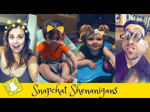 SNAPCHAT FILTERS FUN! l Snapchat funny videos...