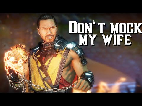 Scorpion Defending His Family And Clan Intros! | Mortal Kombat 11 Ultimate - |