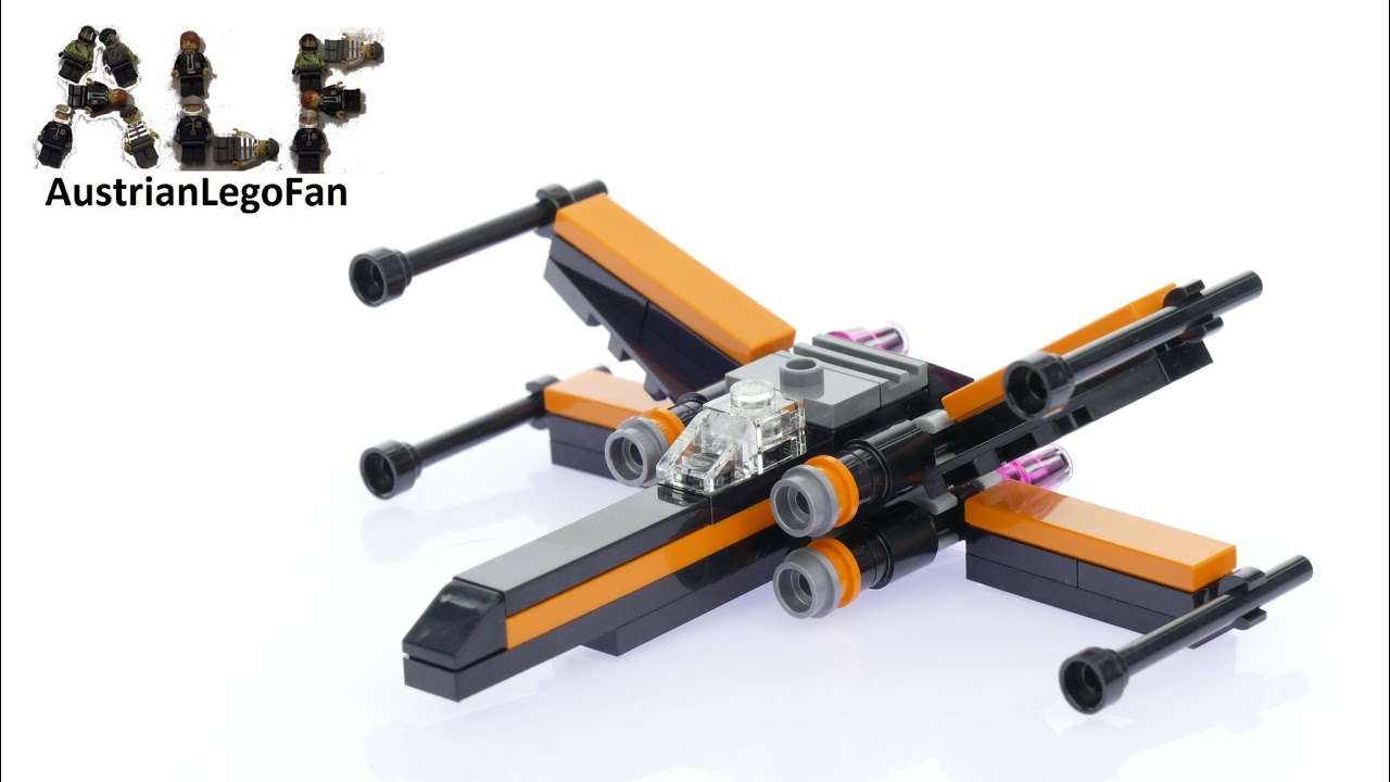 Lego star wars poe s x wing fighter review 75102 youtube - Lego Star Wars 30278 Poe S X Wing Fighter Lego Speed Build Review