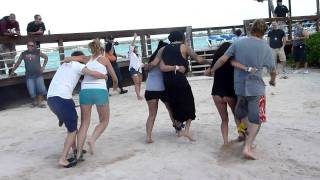 3 legged Race Get it Howie   Backstreet Boys Cruise 2011