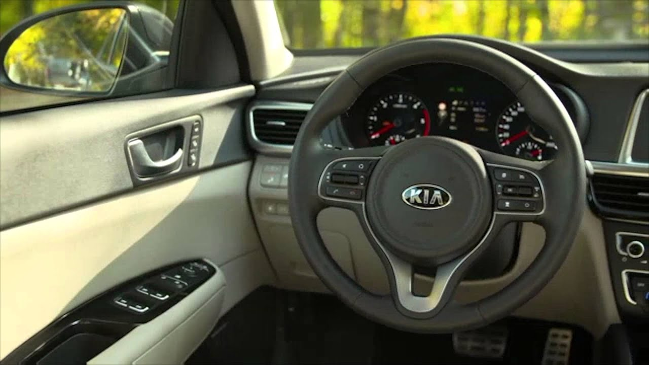 2015 KIA Optima   Interior Design Trailer | AutoMotoTV
