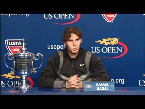 2010 US Open Press Conferences: Rafael Nadal (Finals)