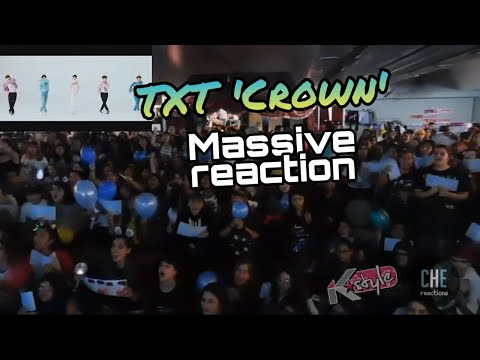 "TXT ""CROWN"" MASSIVE MV REACTION // 투모로우바이투게더 리액션 아르헨티나"