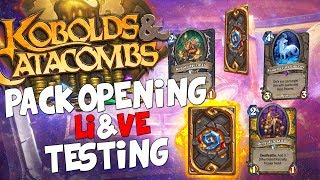 PACK OPENING E DECK TESTING!! [HEARTHSTONE ITA LIVE]