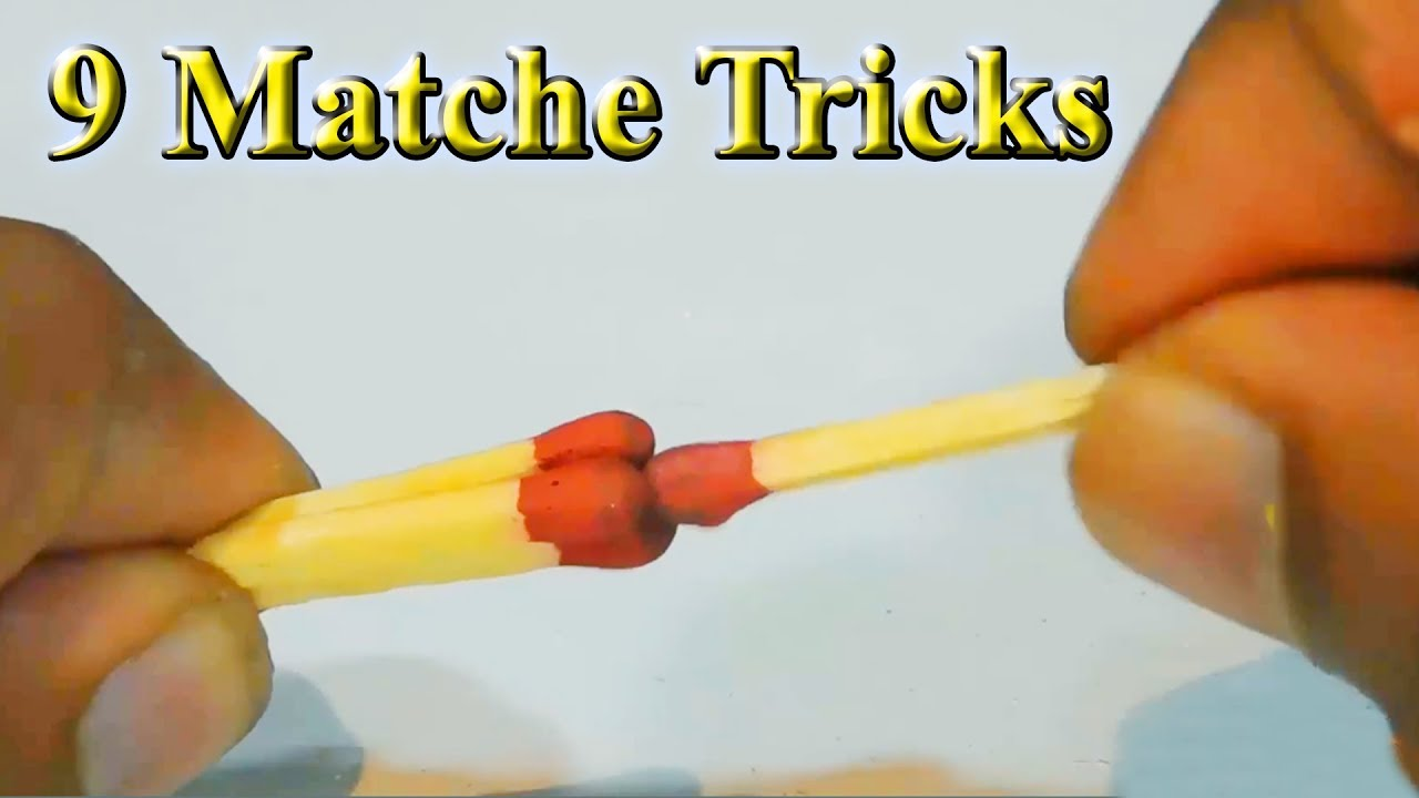 How to do cool match tricks