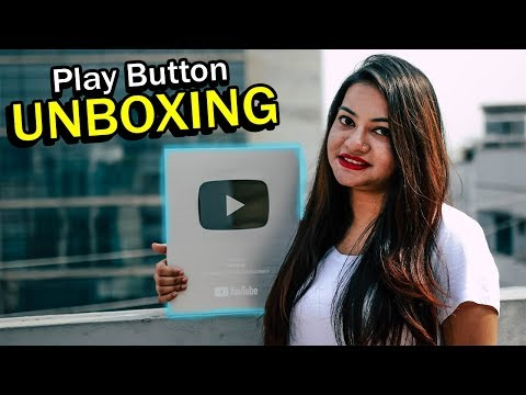Play Button Unboxing | Silver Play Button | Yummy