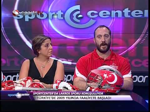 Turkiye Lakros on SportsTV's Sport Center on August 21 2014