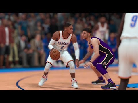 Oklahoma City Thunder vs Los Angeles Lakers – NBA Today January 17th 2019 Full Game Sim 1/17/19