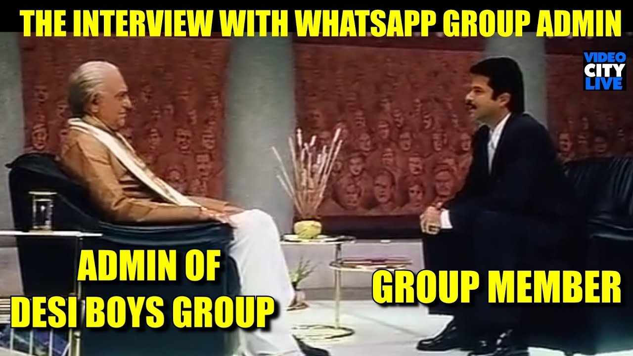 Interview With Whatsapp Group Admin Nayak Movie Parody Video City Live
