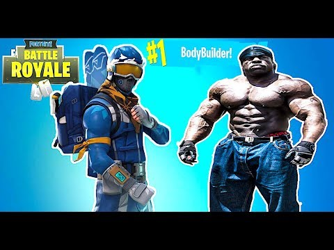 #1 BODYBUILDER FORTNITE PLAYER  {✅ SPONSOR GOAL 67/100}