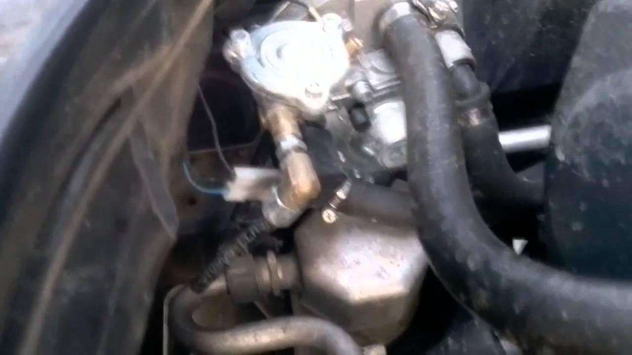 Audi A6 C4 2.6 Установка газового оборудования [ LPG Auto gazes iekarta ]
