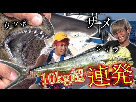 100万円を使って、合計100kgの魚を釣り上げろ![与那国遠征 #1]