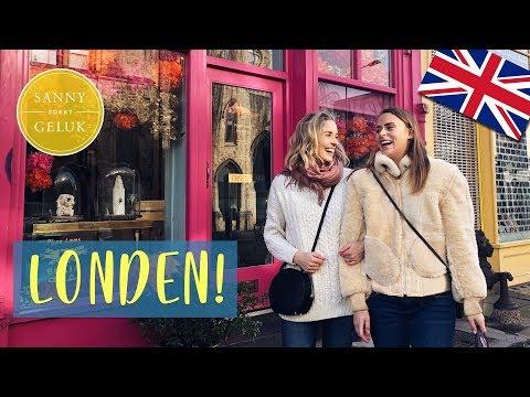 LONDEN! Hotspot tour!  Sanny zoekt Geluk