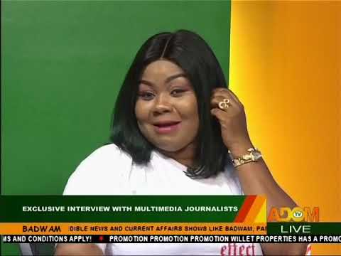 Empress Gifty Adorye interviews Multimedia Journalists Part B