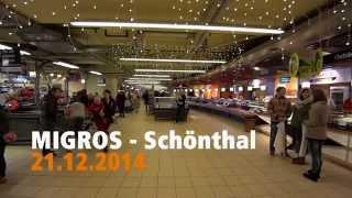 Au-Rugger Wiehnacht - Ensemble - MIGROS Schönthal Füllinsdorf 4/4 - Flashmob
