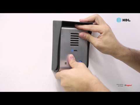 HDL | Instalação do Vídeo Porteiro SENSE Light