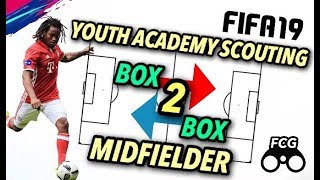 FIFA 19 Youth Academy: How to Scout a Box 2 Box Midfielder