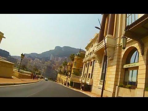 Monaco Drive in the City Panorama 2013 Monte Carlo