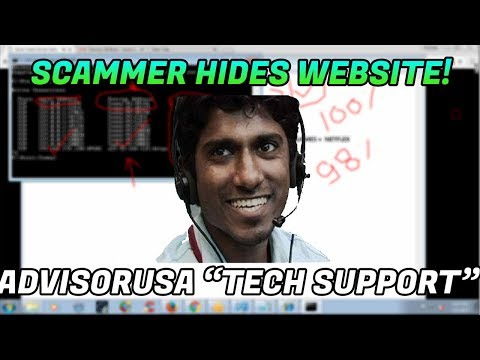 Tech Support Scam / Scammer wont give me their website! - 1-888-310-7601 - Unknown